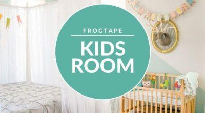 kids room frog tape